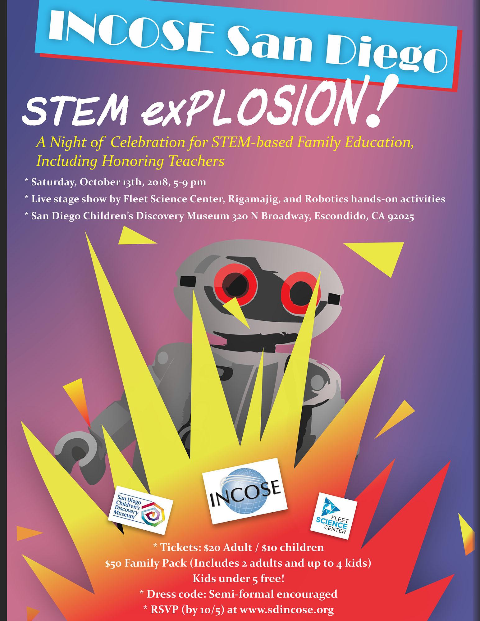 STEM Event Flyer