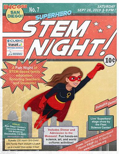 STEM Event Flyer